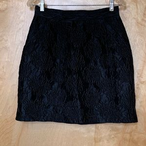 H&M black skirt. Great for Christmas Party